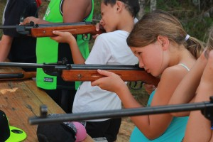 Air rifle target shooting 1