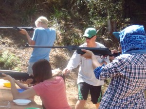 Air rifle target shooting 2